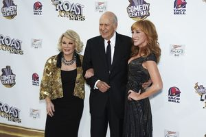 """""""The Comedy Central Roast of Joan Rivers"""" Joan Rivers, Carl Reiner, Kathy Griffin7-26-2009 / CBS Studios / Studio City, CA / Comedy Central / Photo by Benny Haddad - Image 23755_0080"""