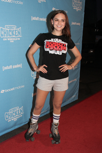 """Robot Chicken Skate Party Bus Tour"" Rachael Leigh Cook8-1-2009 / Skateland / Northridge, CA / Adult Swim / Photo by Joelle Leder - Image 23760_0040"