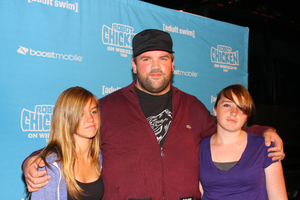 """Robot Chicken Skate Party Bus Tour"" Ethan Suplee8-1-2009 / Skateland / Northridge, CA / Adult Swim / Photo by Joelle Leder - Image 23760_0047"