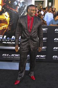 """""""G.I. Joe: The Rise of Cobra"""" PremiereAdewale Akinnuoye-Agbaje8-6-2009 / Grauman"""