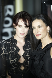 """""""Sorority Row"""" Premiere Rumer Willis and Demi Moore9-3-2009 / ArcLight Theater / Hollywood, CA / Summit Entertainment / Photo by Benny Haddad - Image 23790_0149"""