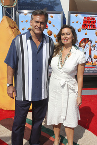 """Cloudy with a Chance of Meatballs"" Premiere Bruce Campbell and Ida Gearon9-12-2009 / Mann Village Theater / Westwood, CA / Columbia Pictures / Photo by Joelle Leder - Image 23792_0001"