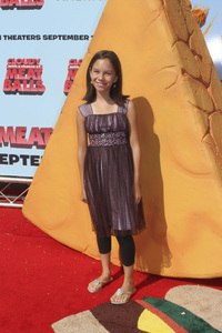 """""""Cloudy with a Chance of Meatballs"""" Premiere Grace Rolek9-12-2009 / Mann Village Theater / Westwood, CA / Columbia Pictures / Photo by Joelle Leder - Image 23792_0010"""