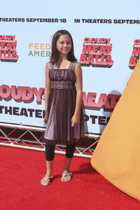 """""""Cloudy with a Chance of Meatballs"""" Premiere Grace Rolek9-12-2009 / Mann Village Theater / Westwood, CA / Columbia Pictures / Photo by Joelle Leder - Image 23792_0015"""
