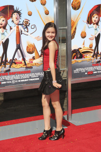 """Cloudy with a Chance of Meatballs"" Premiere Ariel Winter9-12-2009 / Mann Village Theater / Westwood, CA / Columbia Pictures / Photo by Joelle Leder - Image 23792_0029"