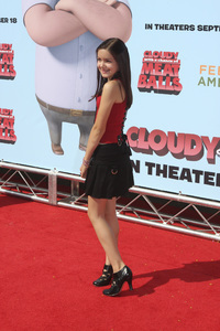 """Cloudy with a Chance of Meatballs"" Premiere Ariel Winter9-12-2009 / Mann Village Theater / Westwood, CA / Columbia Pictures / Photo by Joelle Leder - Image 23792_0038"