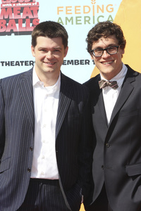 """Cloudy with a Chance of Meatballs"" Premiere Phil Lord, Chris Miller9-12-2009 / Mann Village Theater / Westwood, CA / Columbia Pictures / Photo by Joelle Leder - Image 23792_0070"