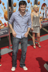 """""""Cloudy with a Chance of Meatballs"""" Premiere Bill Hader and Anna Faris9-12-2009 / Mann Village Theater / Westwood, CA / Columbia Pictures / Photo by Joelle Leder - Image 23792_0076"""