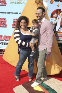 """""""Cloudy with a Chance of Meatballs"""" Premiere Marissa Jaret Winokur, Zev Issac Miller and Judah Miller9-12-2009 / Mann Village Theater / Westwood, CA / Columbia Pictures / Photo by Joelle Leder - Image 23792_0110"""