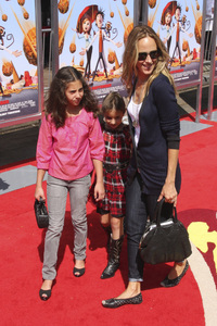 """Cloudy with a Chance of Meatballs"" Premiere Kim Raver and family9-12-2009 / Mann Village Theater / Westwood, CA / Columbia Pictures / Photo by Joelle Leder - Image 23792_0123"
