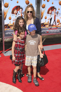 """Cloudy with a Chance of Meatballs"" Premiere Kim Raver and family9-12-2009 / Mann Village Theater / Westwood, CA / Columbia Pictures / Photo by Joelle Leder - Image 23792_0125"