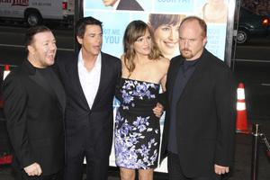 """The Invention of Lying"" Premiere Ricky Gervais, Rob Lowe, Jennifer Garner, Louis C.K.9-21-2009 / Grauman"