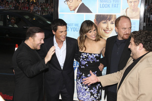 """The Invention of Lying"" Premiere Ricky Gervais, Rob Lowe, Jennifer Garner, Louis C.K., Jonah Hill9-21-2009 / Grauman"