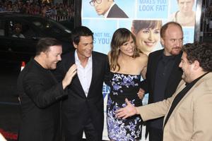 """The Invention of Lying"" Premiere Ricky Gervais, Rob Lowe, Jennifer Garner, Louis C.K., Jonah Hill9-21-2009 / Grauman"