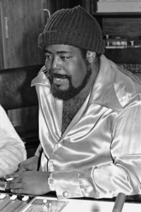 Barry White in Los Angeles recording studiocirca 1980 © 1980 Bobby Holland - Image 23798_0001
