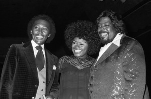 Frankie Crocker, Glodean White and Barry White inLos Angeles 1978 © 1978 Bobby Holland - Image 23798_0007
