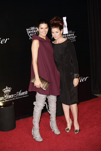 Rodeo Drive Walk of Style AwardDebra Messing and Angie Harmon10-22-2009 / Rodeo Drive / Beverly Hills, CA / Photo by Benny Haddad - Image 23800_0026