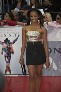 """""""This Is It"""" PremiereMekia Cox10-27-2009 / Nokia Theatre L.A. Live / Los Angeles, CA / Columbia Pictures / Photo by Benny Haddad - Image 23803_0019"""