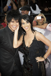 """""""This Is It"""" PremiereAdam Lambert, Katy Perry10-27-2009 / Nokia Theatre L.A. Live / Los Angeles, CA / Columbia Pictures / Photo by Benny Haddad - Image 23803_0075"""