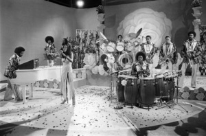 Rose Royce during the making of a music video in Los Angeles 1978 © 1978 Bobby Holland - Image 23832_0006