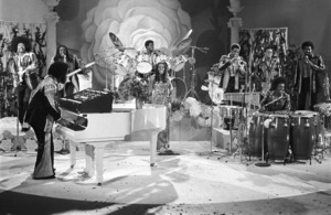 Rose Royce during the making of a music video in Los Angeles 1978 © 1978 Bobby Holland - Image 23832_0007