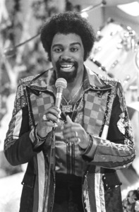 Kenny Copeland  of Rose Royce during the making of a music video in Los Angeles 1978 © 1978 Bobby Holland - Image 23832_0008