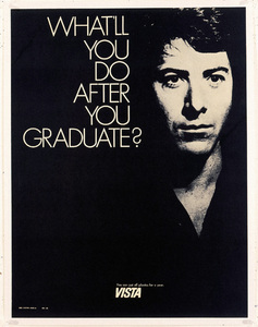 """The Graduate"" (poster)Dustin Hoffman1967** I.V. - Image 23838_0029"