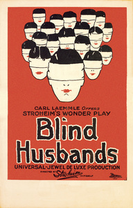 """Blind Husbands"" (Poster)1919** T.N.C. - Image 23838_0031"