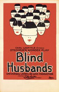 """""""Blind Husbands"""" (Poster)1919** T.N.C. - Image 23838_0031"""