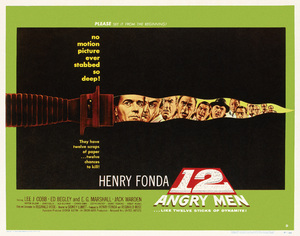 """""""12 Angry Men"""" (Poster)1957** T.N.C. - Image 23838_0032"""