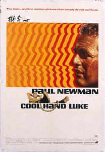 """Cool Hand Luke"" (Poster)1967** T.N.C. - Image 23838_0043"