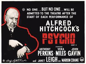 """""Psycho"" (Poster)1960** T.N.C. - Image 23838_0046"