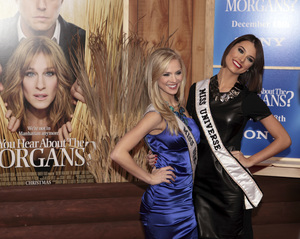 """""""Did You Hear About the Morgans?"""" PremiereKristen Dalton, Miss USA and Stefania Fernandez, Miss Universe12-14-2009 / Ziegfeld Theater / New York, NY / Sony Pictures / Photo by Cecelia Post - Image 23840_0004"""