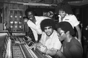 Norman Whitfield with members of The Undisputed Truth at Fort Knox Recording Studios 1979 © 1979 Bobby Holland - Image 23841_0009