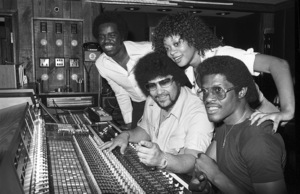 Norman Whitfield with members of The Undisputed Truth at Fort Knox Recording Studios 1979 © 1979 Bobby Holland - Image 23841_0010