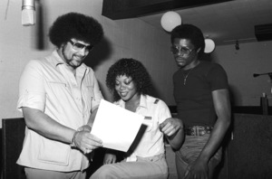 Norman Whitfield with members of The Undisputed Truth at Fort Knox Recording Studios 1979 © 1979 Bobby Holland - Image 23841_0011