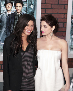 """""""Sherlock Holmes"""" PremiereJessica Szohr and Ashley Greene12-17-2009 / Lincoln Center Starr Theater / New York, NY / Warner Brothers / Photo by Cecelia Post - Image 23847_0007"""