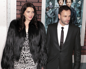 """""""Sherlock Holmes"""" PremiereMichele Hicks, Jonny Lee Miller12-17-2009 / Lincoln Center Starr Theater / New York, NY / Warner Brothers / Photo by Cecelia Post - Image 23847_0016"""