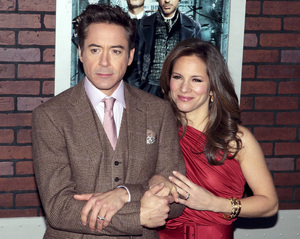 """""""Sherlock Holmes"""" PremiereRobert Downey Jr. and Susan Downey12-17-2009 / Lincoln Center Starr Theater / New York, NY / Warner Brothers / Photo by Cecelia Post - Image 23847_0042"""