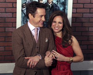 """Sherlock Holmes"" PremiereRobert Downey Jr. and Susan Downey12-17-2009 / Lincoln Center Starr Theater / New York, NY / Warner Brothers / Photo by Cecelia Post - Image 23847_0043"