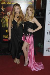 """""""Fantastic Mr. Fox"""" PremiereKristy Landers, Lindsey Landers10-30-2009 / Grauman"""