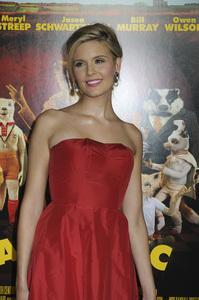 """Fantastic Mr. Fox"" PremiereMaggie Grace10-30-2009 / Grauman"