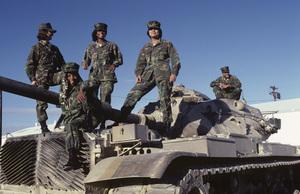 Patrice Rushen at 29 Palms Marine Base1980© 1980 Bobby Holland - Image 23854_00011