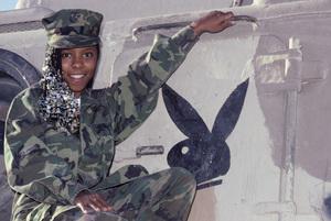 Patrice Rushen at 29 Palms Marine Base1980© 1980 Bobby Holland - Image 23854_0007