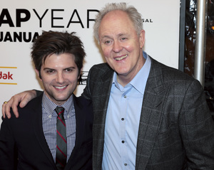 """""""Leap Year"""" PremiereAdam Scott and John Lithgow1-6-2010 / DGA Theater / New York NY / Universal Studios / Photo by Cecelia Post - Image 23862_0039"""
