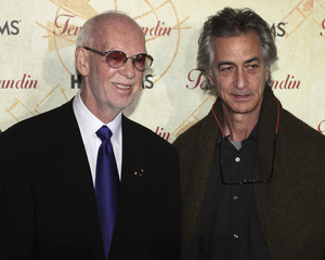 """Temple Grandin"" PremiereDavid Strathairn and Mick Jackson1-26-2010 / Time Warner Center / New York NY / HBO Films / Photo by Cecelia Post - Image 23870_0029"