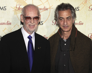 """""""Temple Grandin"""" PremiereDavid Strathairn and Mick Jackson1-26-2010 / Time Warner Center / New York NY / HBO Films / Photo by Cecelia Post - Image 23870_0030"""