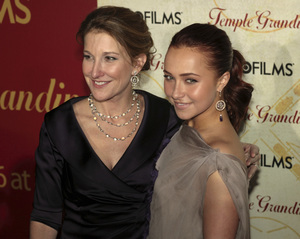 """""""Temple Grandin"""" PremiereEmily Gerson Saines, Hayden Panettiere1-26-2010 / Time Warner Center / New York NY / HBO Films / Photo by Cecelia Post - Image 23870_0056"""