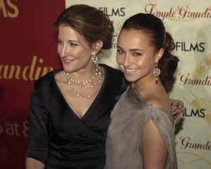 """""""Temple Grandin"""" PremiereEmily Gerson Saines, Hayden Panettiere1-26-2010 / Time Warner Center / New York NY / HBO Films / Photo by Cecelia Post - Image 23870_0057"""