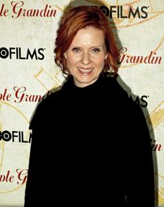 """Temple Grandin"" PremiereCynthia Nixon1-26-2010 / Time Warner Center / New York NY / HBO Films / Photo by Cecelia Post - Image 23870_0080"